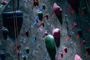 Indoor Rockclimbing Wall