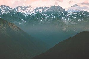 Rocky Mountains beautiful Landscape