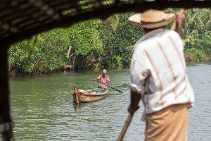 Kerala backwaters, India (15 photos)
