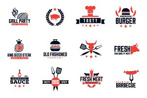 Barbecue Logo Pack