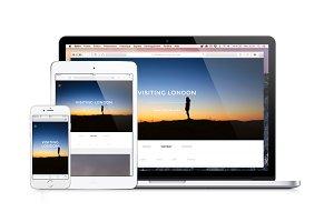 Foto - Responsive photos template