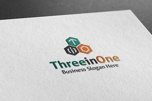 Three In One Style Logo