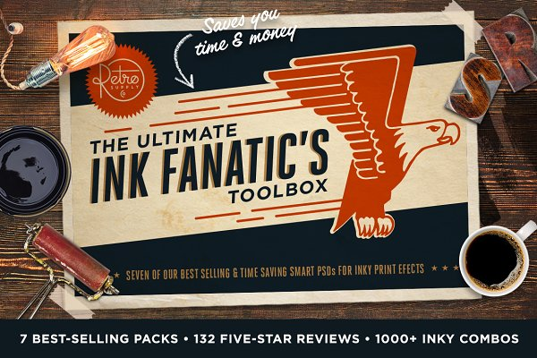 The Ink Fanatic's Toolbox | PSD Kit