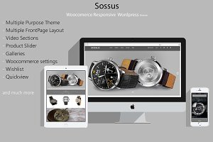Sossus - Blog and Shop Theme