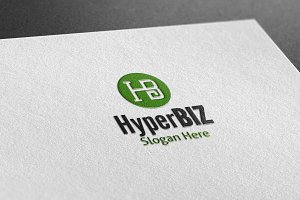 Hyper Biz Style Logo