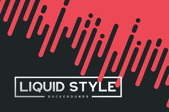 Liquid/Fast Style Backgroun-Graphicriver中文最全的素材分享平台
