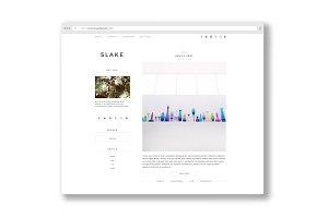 slake / a portfolio + blog
