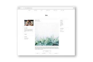 tre / a portfolio + blog