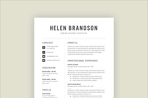 Professional Resume Template 02