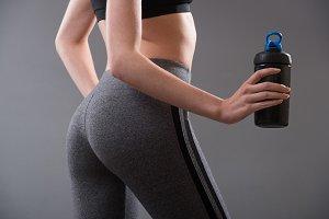 Perfect female fitness body shape