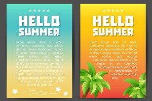 Hello Summer flyers.