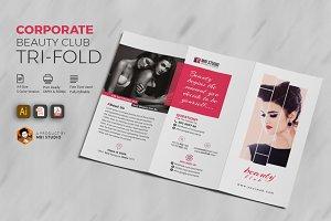 Beauty Club Tri-Fold