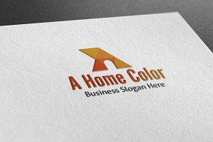 A Home Color Logo