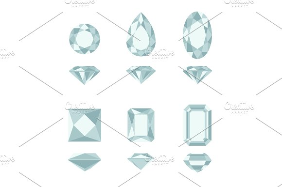 Diamond And Gemstone Shapes