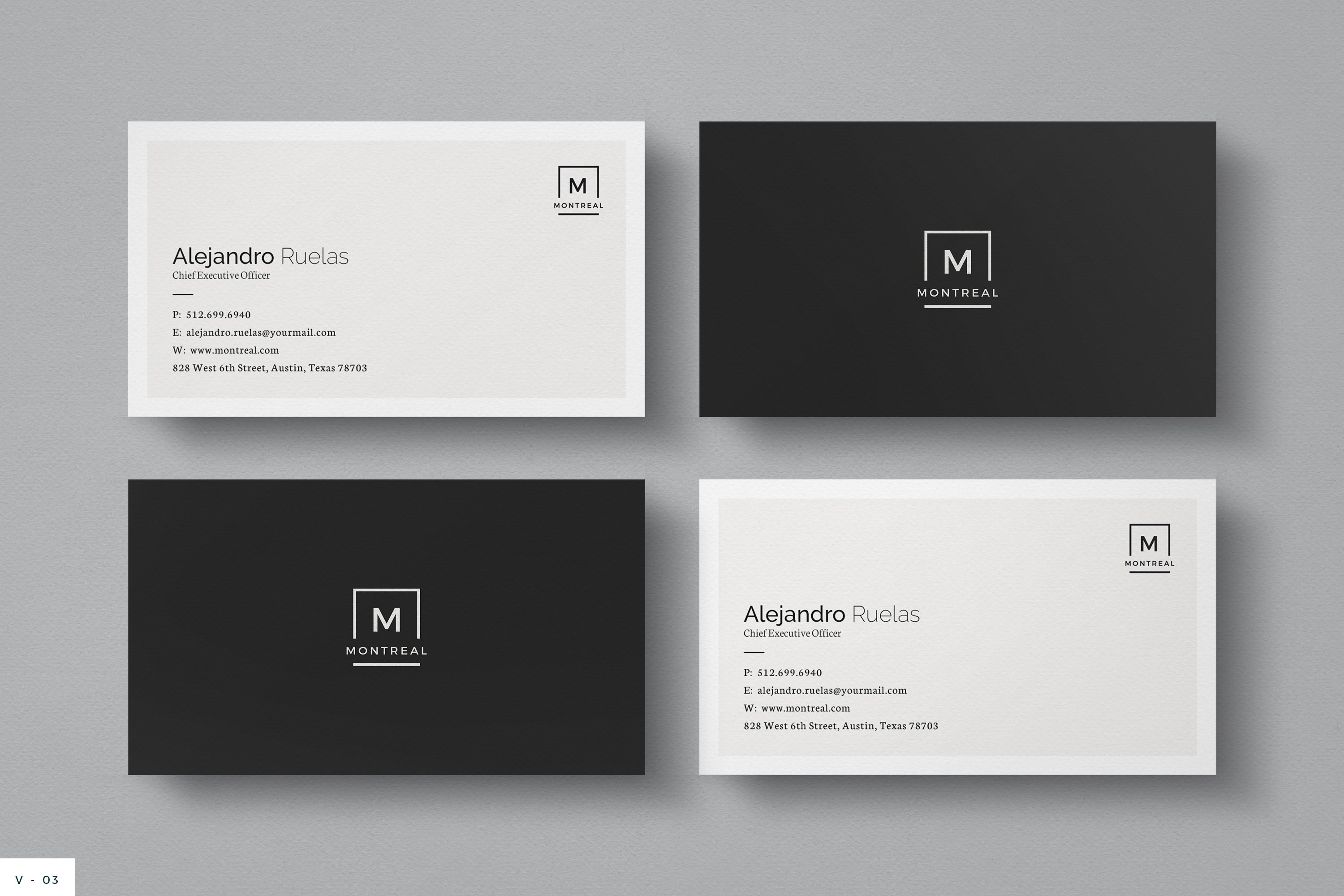 WordPress Designer Business Card