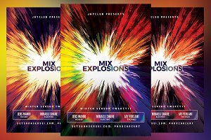 Mix Explosions Flyer