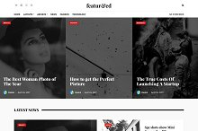 Featured WordPress Theme by Theme Junkie in Magazine