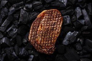 Grilled meat steak Ribeye