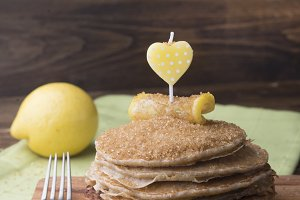 Pancakes for special day