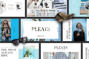 (40% OFF) PLEATS - Keynote Slides