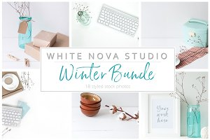 Winter stock photo bundle