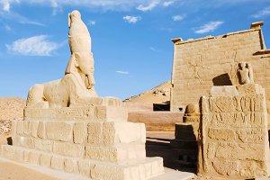 Sphinx of Ramesses II