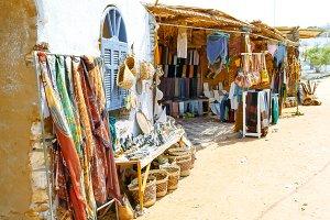 Nubian market.