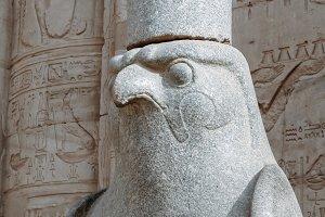 Statue of Horus.