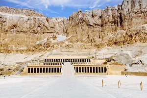 Temple of Queen Hatshepsut.Luxor