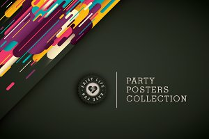 Party posters collection