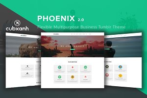 Phoenix - Business Tumblr Theme