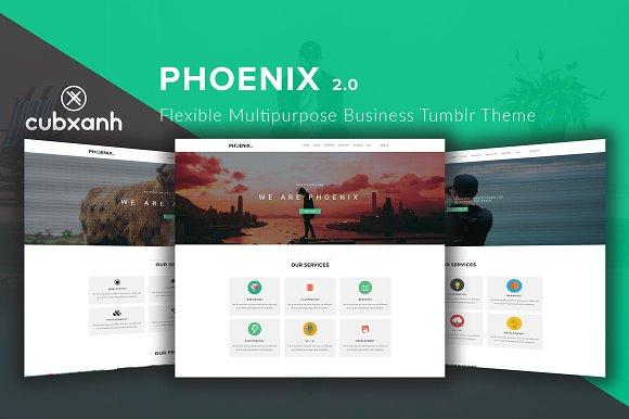 Phoenix Business Tumblr Theme