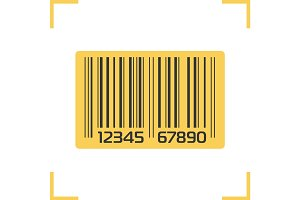 Barcode color icon