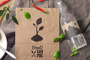 4 Eco Food Logos