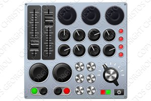 Mixing or control console