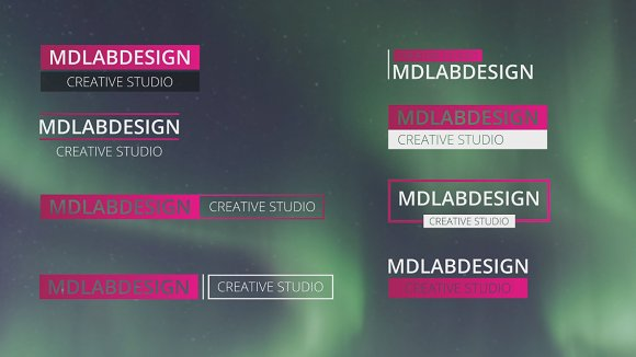 Corporate Lower Thirds ~ Templates ~ Creative Market