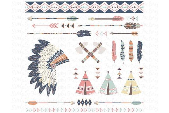 Tribal Arrows Teepee Tents
