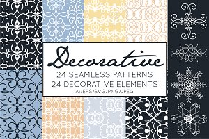 Decorative Elements & Patterns