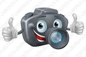 Cartoon camera mascot