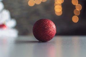 Christmas Tree Red Ball