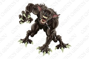 Werewolf illustration