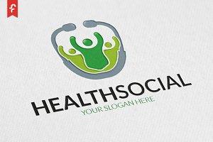 Health Social Logo
