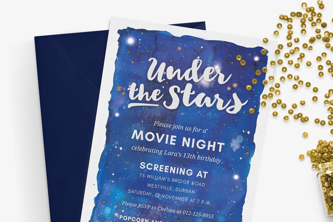 Twinkle twinkle little star baby shower invitations twinkle.