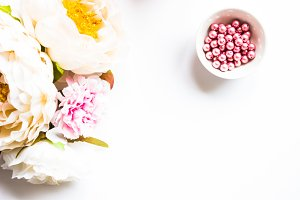 Styled Stock Photo Flowers