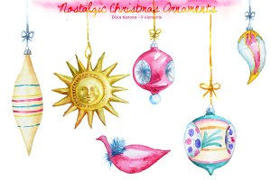 Nostalgic Christmas Ornaments