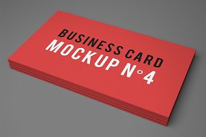 Business Card Mockup N°4