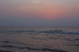 Indian Ocean, sunrise. Timelaps (82)