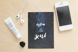 Listen To Your Soul - print