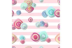 2 Cute seamless patterns