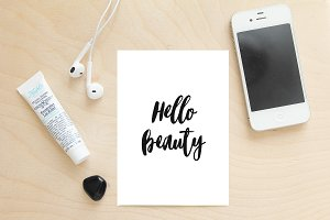 Hello Beauty - wall art, print